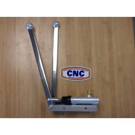 COMMANDE FREINS SEPARES CNC DOUBLE LEVIER VERTICAL